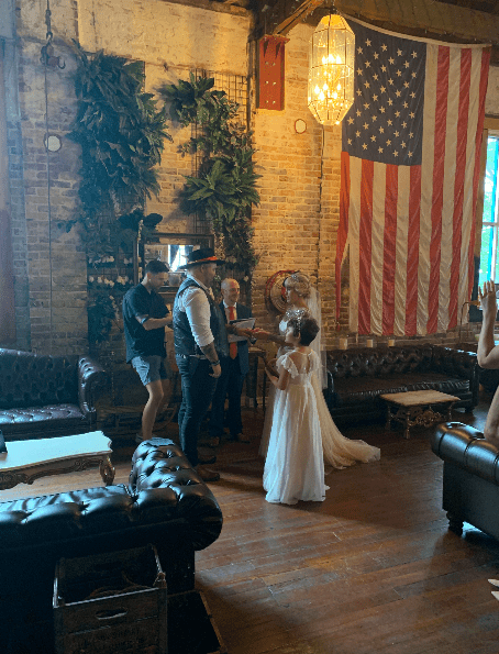 ceremony at mathers