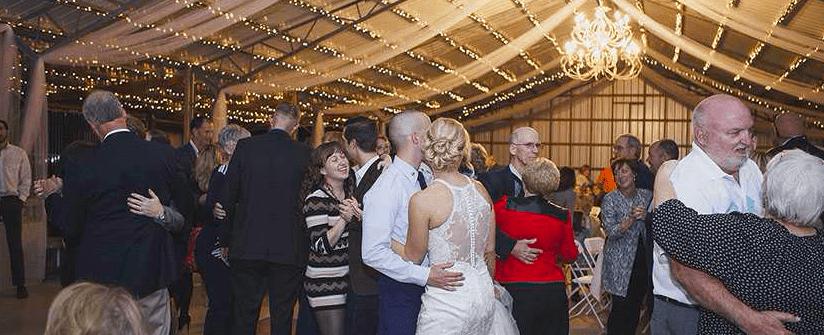 dancing reception- 23 acres