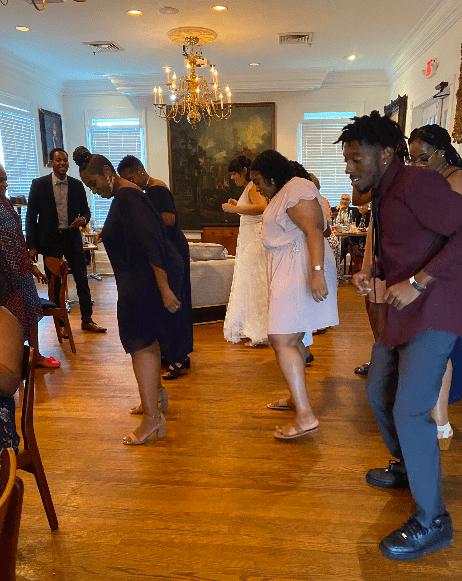 dancing reception wellborn